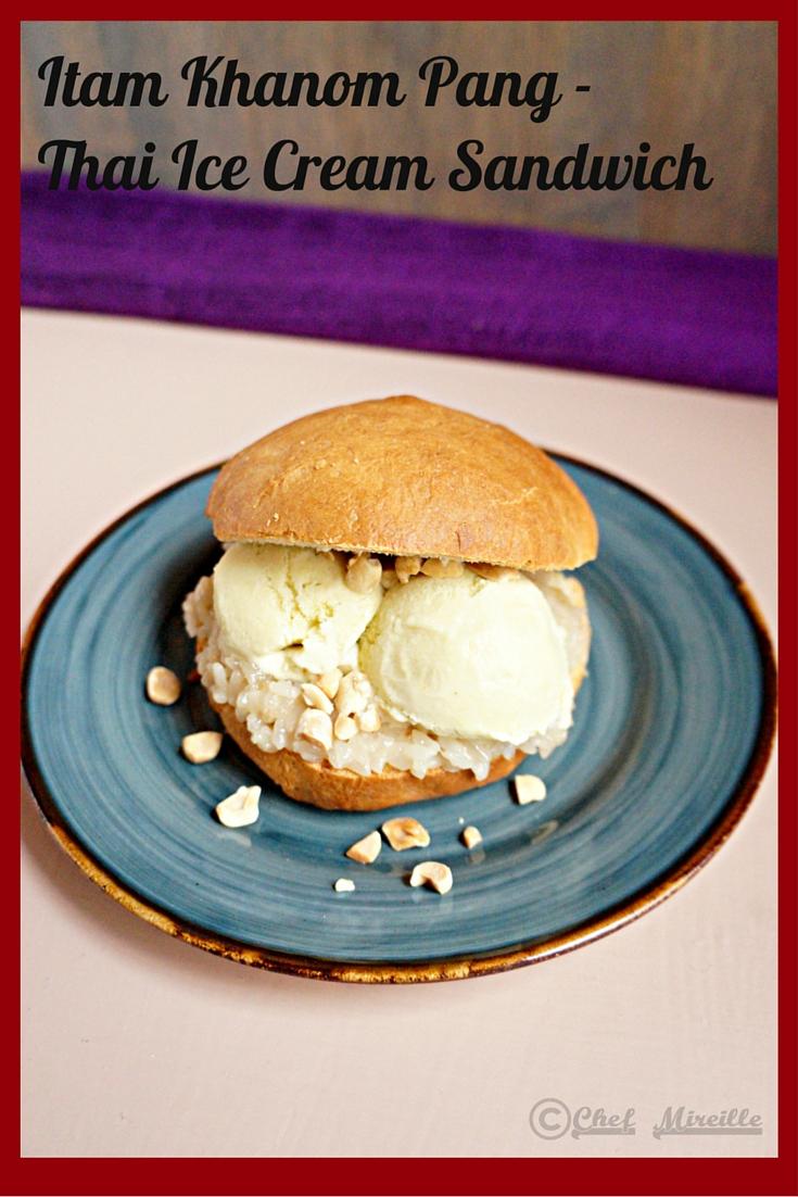 Itim Khanom Pang – Thai Ice Cream Sandwich