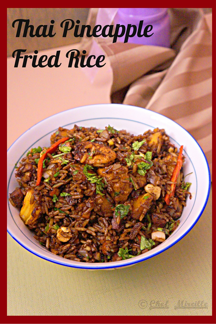 Pineapple Fried Rice – Khao Pad Sapparot