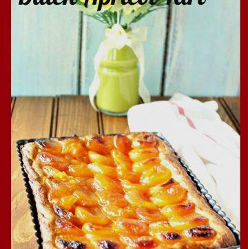 Dutch Apricot Tart