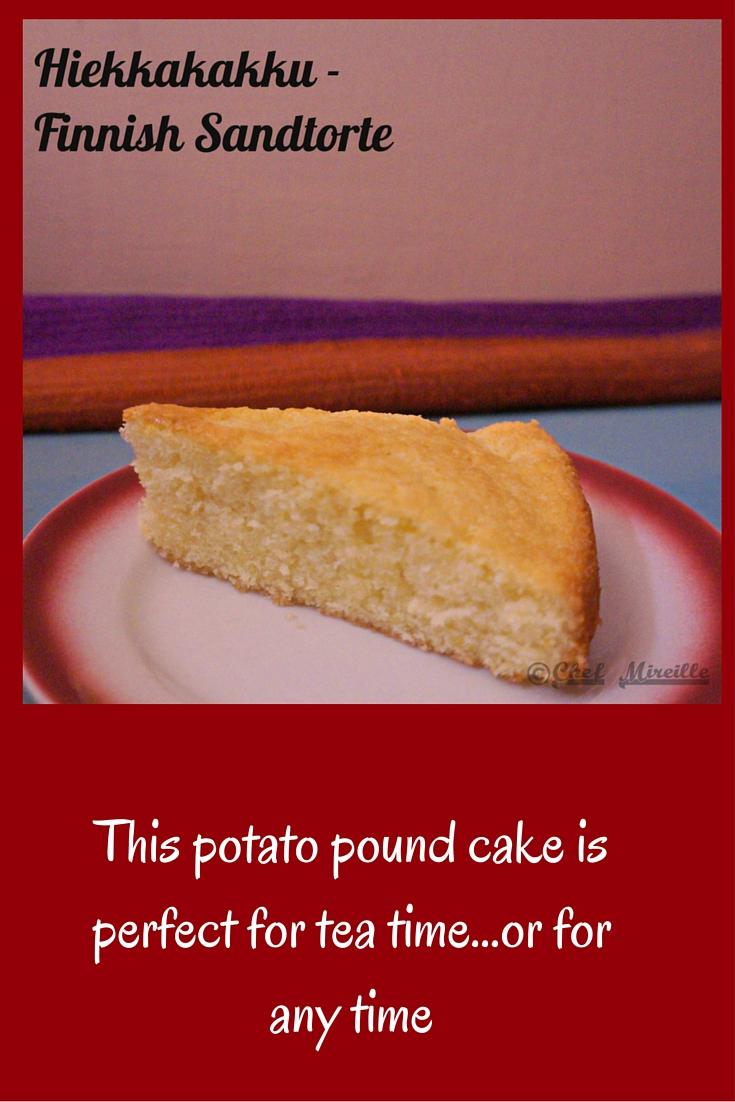 Sandtorte, Potato Cake