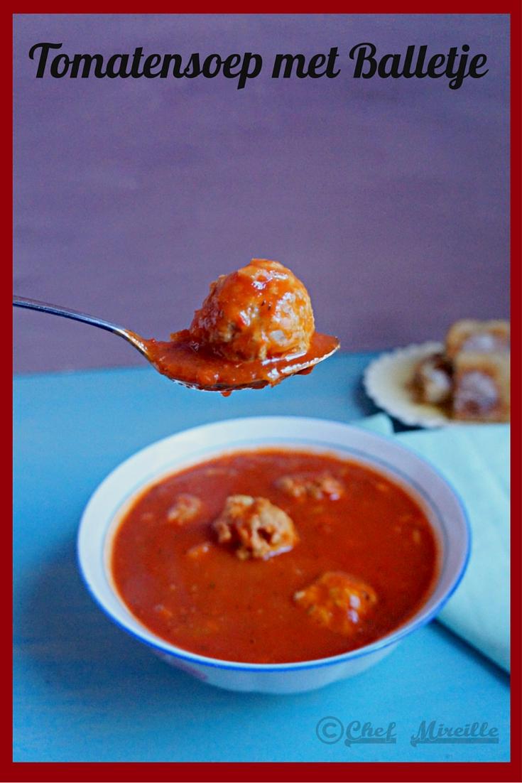 Tomatensoep met Balletjes – Dutch Tomato Meatball Soup