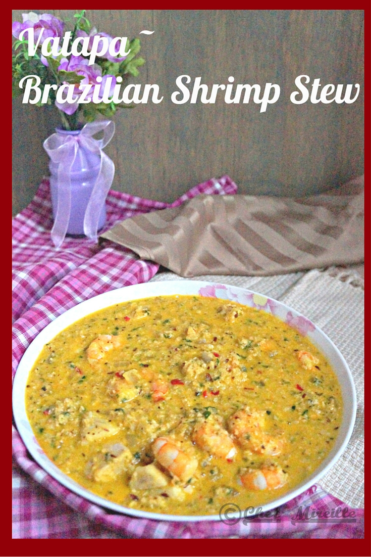 Vatapa - Brazilian Shrimp Stew