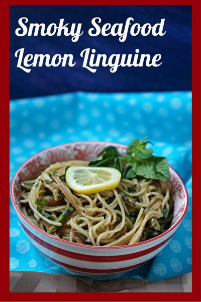 Smoked Oyster Lemon Linguine