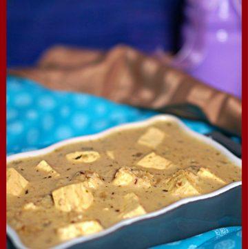 Malabari Coconut Paneer Curry