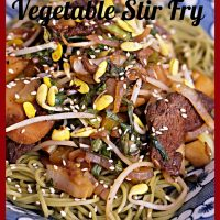 Spiced Duck & Vegetable Stir Fry