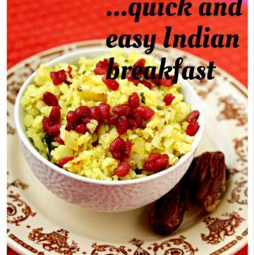 Breakfast Poha - Flattened Rice
