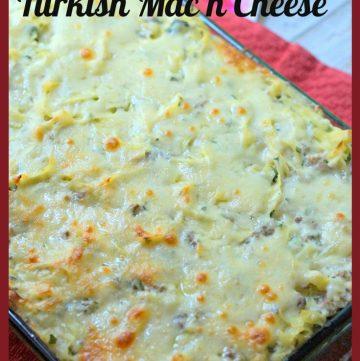 Turkish Mac n Cheese