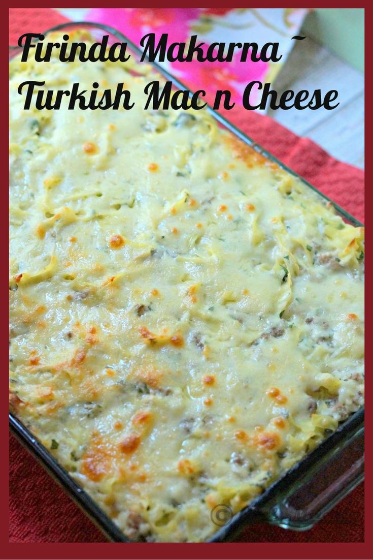 Firinda Makarna – Turkish Mac n Cheese