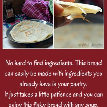 Tanzania Layered Chapati, African Food