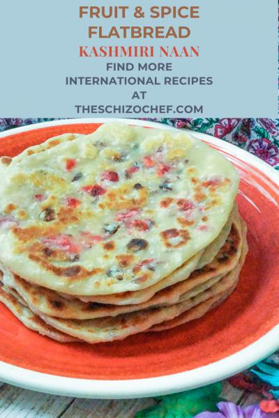 plate of Kashmiri Naan