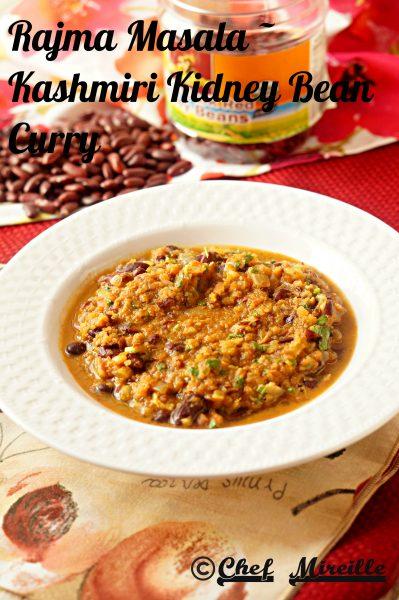 Rajma Masala - Kidney Bean Curry
