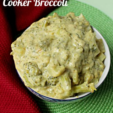 Creamy #SlowCooker Broccoli
