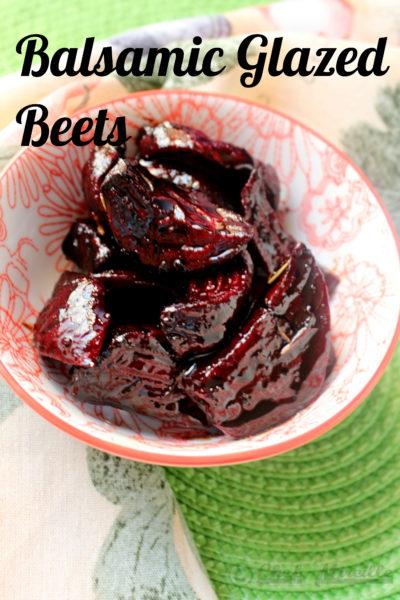 Balsamic Glazed Beets