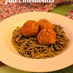 "Chickpea ""faux meatballs"""