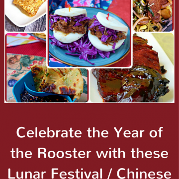 #ChineseNewYear Recipes, #LunarFestival Recipes