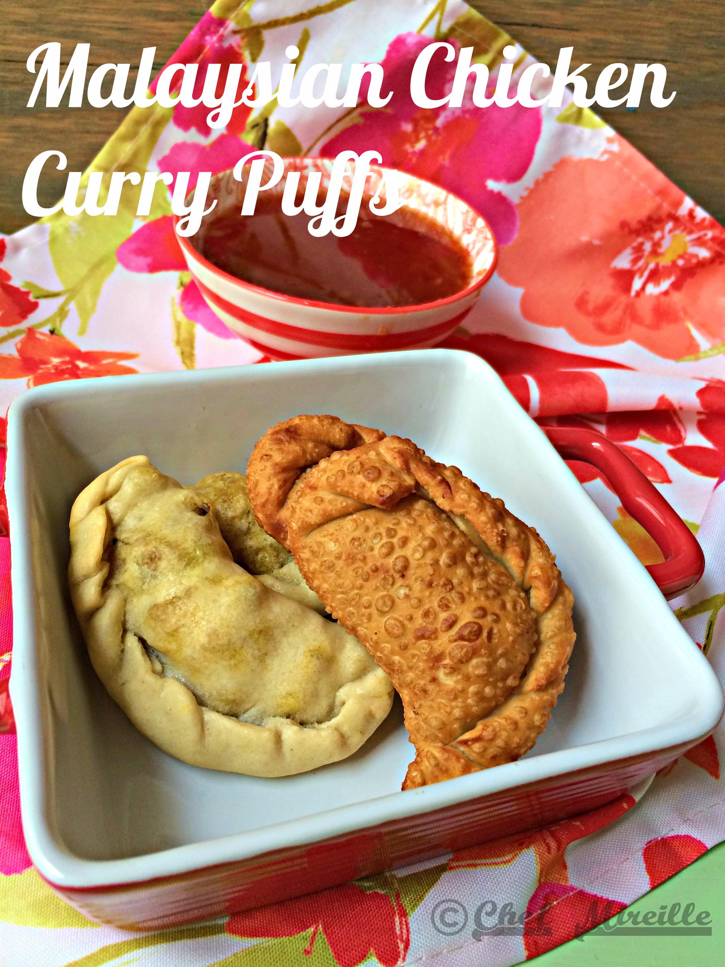 Malaysian Chicken Curry Puffs