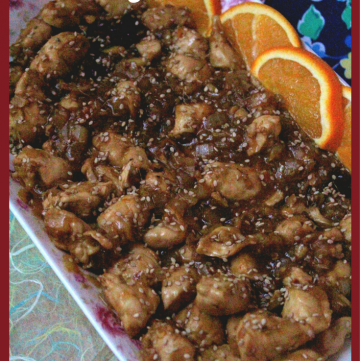 Orange Chicken - Low Fat Version