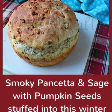 Pancetta Sage Pumpkin Seed Bread