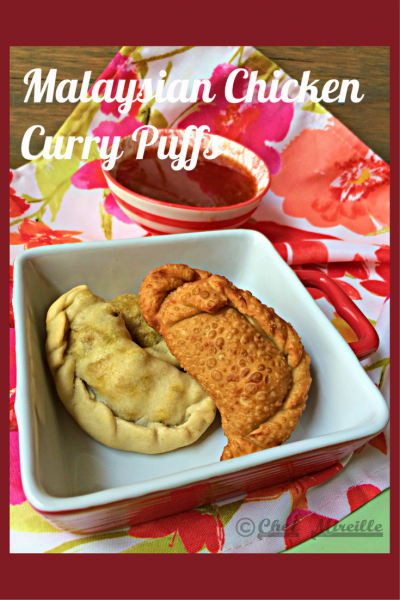 Malaysian Chicken Curry Puffs