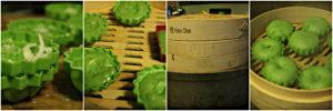 Pandan Sponge Cakes