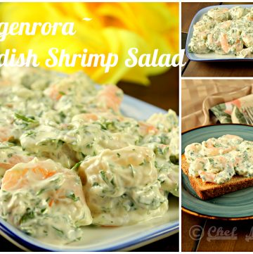 Skagenrora - Swedish Shrimp Salad