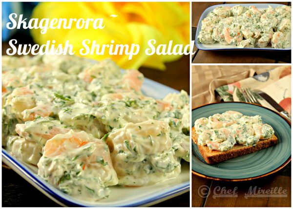 Skagenrora - Swedish Shrimp Salad