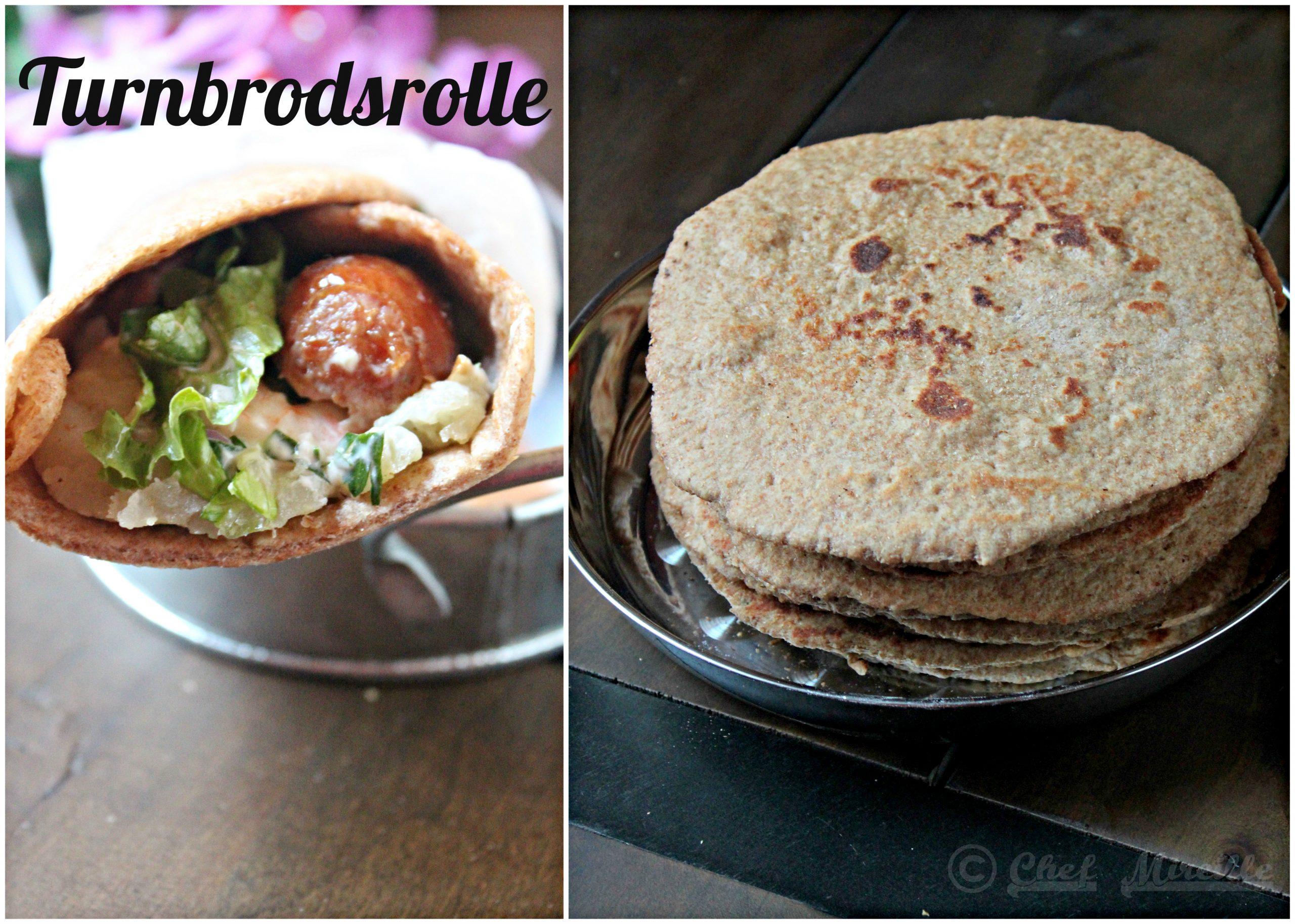 Turnbrod - Turnbrodsrolle - Swedish Street Food Rye Wraps