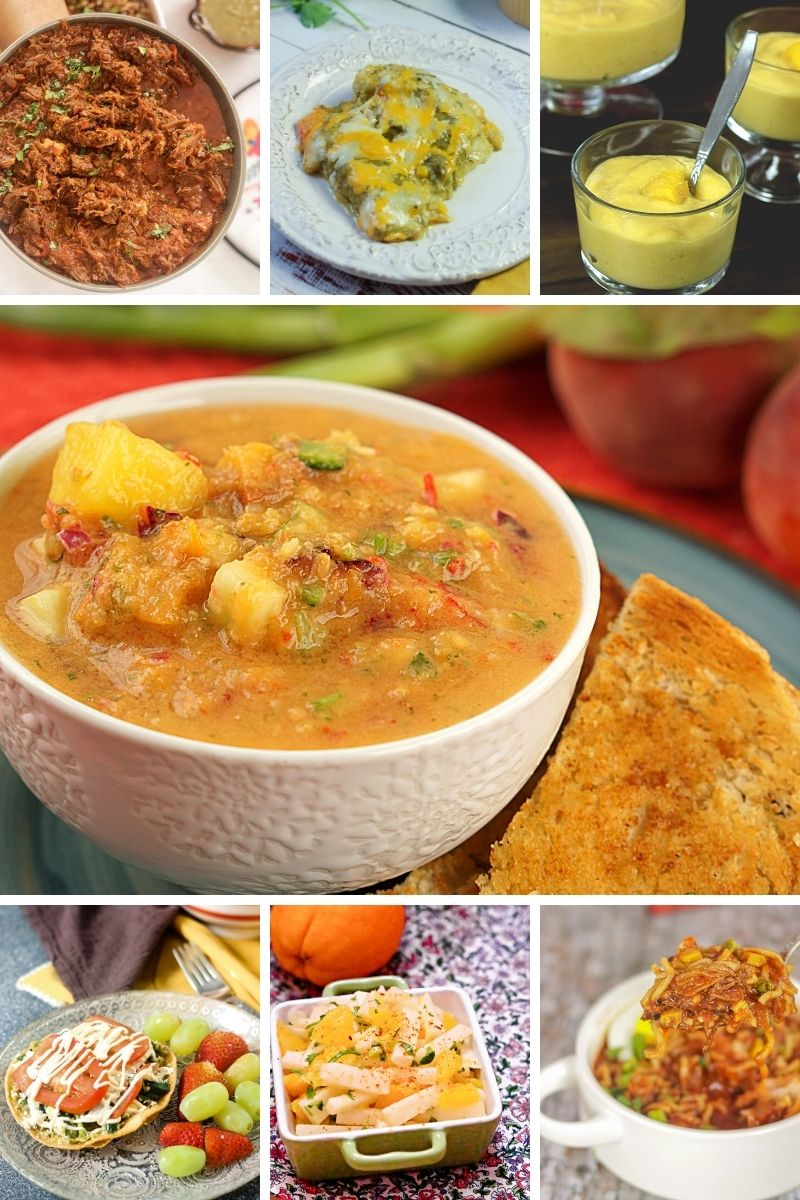 collage of Mexican Recipes