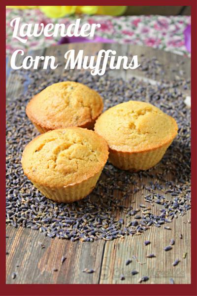 Lavender Corn Muffins