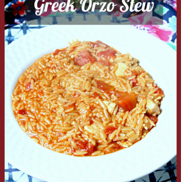 Manestra - Greek Orzo Stew