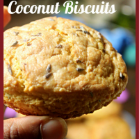 Pumpkin Biscuits with text