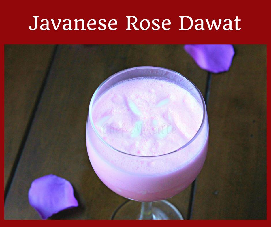 Suirname Style Javanese Rose Dawat, Dawat, Rose Dawat
