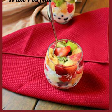 Coconut Marscapone Fruit Parfait