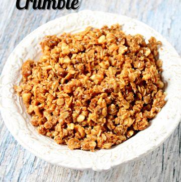 Coconut Peanut Crumble