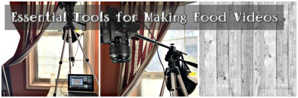 Essential Tools for Making Food Videos