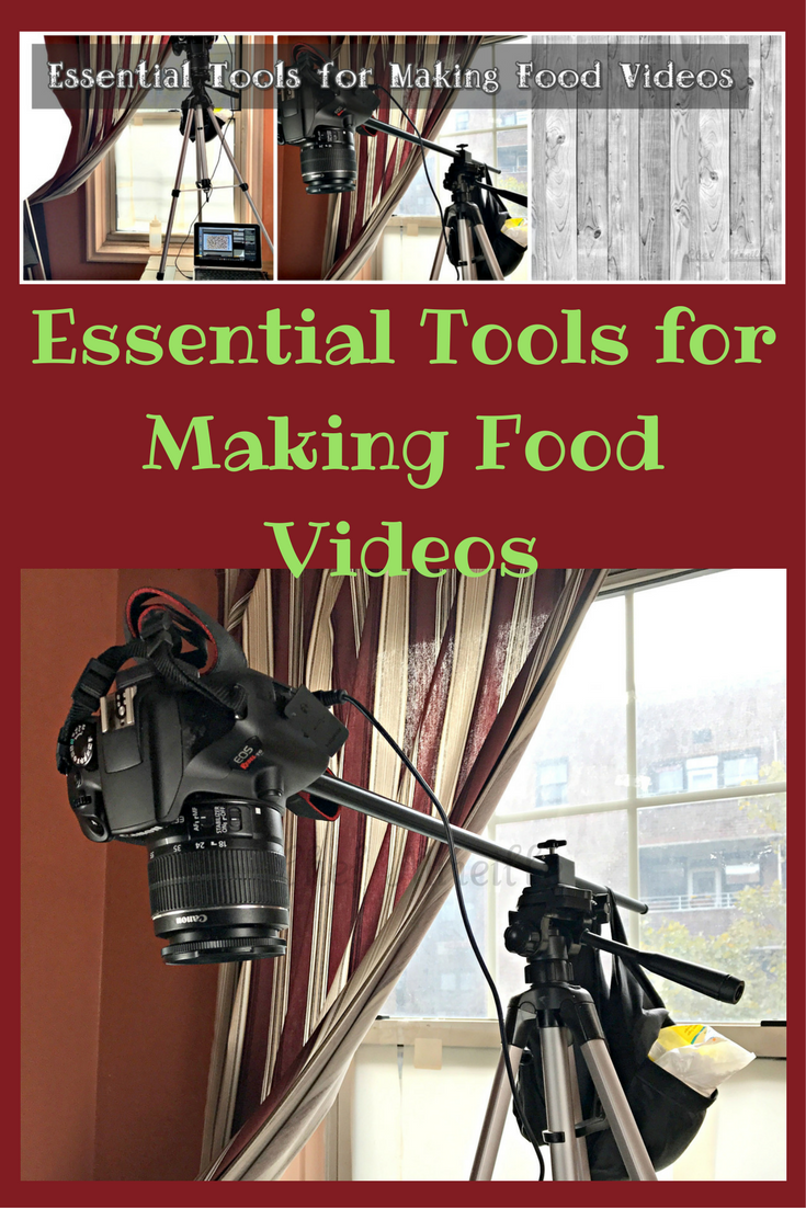 Blogging #1 – Essential Tools for Making Food Videos