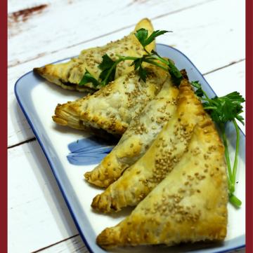 Vegetable Bourekas