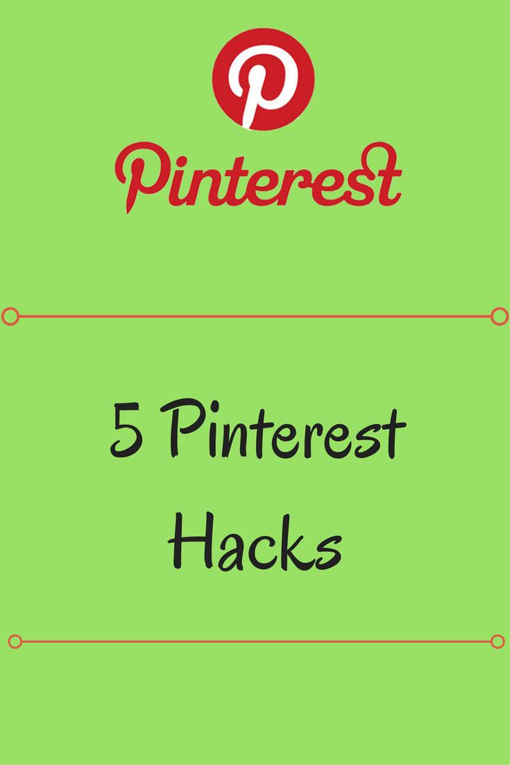 Blogging Tips – Pinterest Tips & Tricks – 5 Pinterest Hacks
