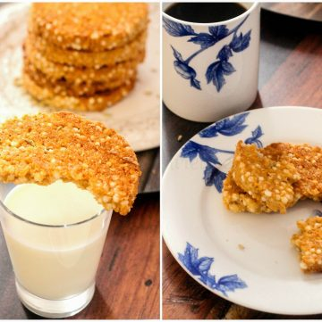 Savboro - Sri Lankan Sago Coconut Cookies