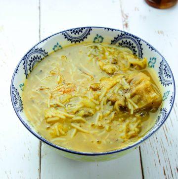Soup Jou Mou - Haitian Pumpkin Soup (with a twist)