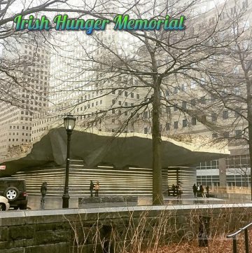 #TravelTuesday - Irish Hunger Memorial