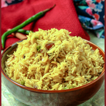 Mishti Pulao - Bengali Sweet & Savory Pulao
