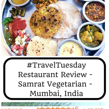 #TravelTuesday - Restaurant Review - Samrat - Mumbai, India