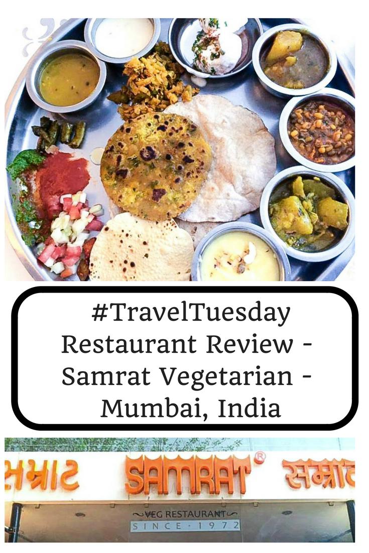#TravelTuesday – Restaurant Review – Samrat – Mumbai, India