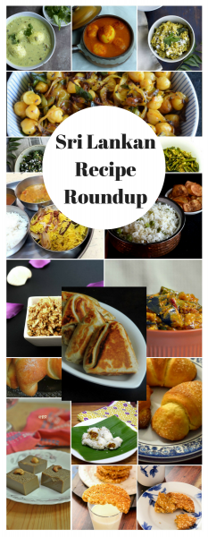 Sri Lankan Recipe Roundup