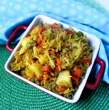 Taheri - UP style Vegetable Pulao