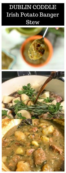Dublin Coddle - Irish Potato Banger Stew