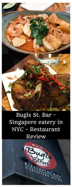 Bugis Street Bar - Singapore eatery in NYC - Restaurant Review