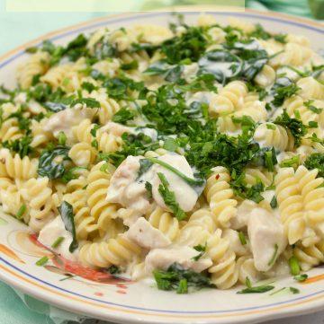 Chicken Florentine Pasta - Classic Italian American Cuisine