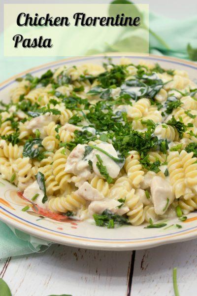 Chicken Florentine Pasta - Classic Italian American Food